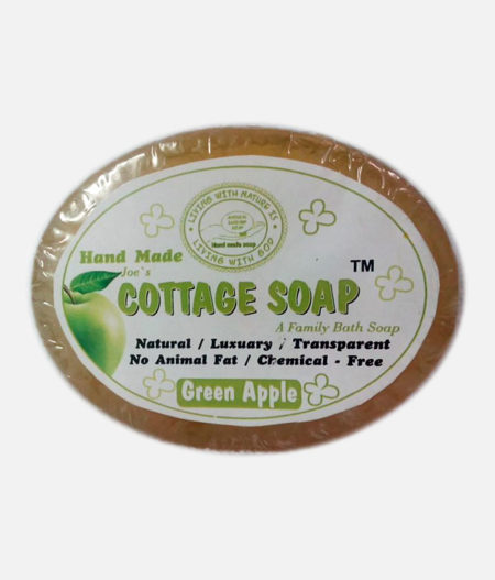 Hand Made Soap (Green Apple)